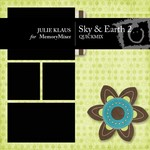 Sky and Earth 2 QuickMix-$4.00 (Julie Klaus)