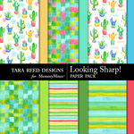 Looking Sharp Paper Pack-$3.99 (Tara Reed Designs)