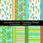Looking Sharp Paper Pack-$3.99 (Tara Reed Designs)