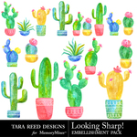 Looking Sharp Embellishment Pack-$2.80 (Tara Reed Designs)