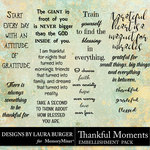 Thankful Moments WordArt Pack-$4.99 (Laura Burger)