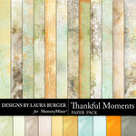 Thankful Moments Paper Pack-$3.99 (Laura Burger)