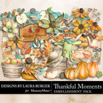 Thankful Moments Embellishment Pack-$4.99 (Laura Burger)