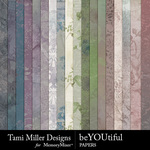 beYOUtiful Paper Pack-$3.99 (Tami Miller)