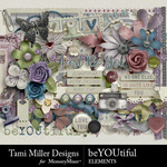 beYOUtiful Embellishment Pack-$3.99 (Tami Miller)