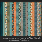 Jumpstart Your November 2017 Paper Pack-$3.99 (Jumpstart Designs)