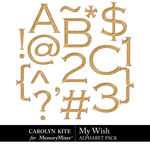My Wish Alphabet Pack 1-$3.99 (Carolyn Kite)