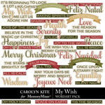 My Wish WordArt Pack-$2.99 (Carolyn Kite)