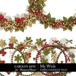 My Wish Wreaths Pack-$2.99 (Carolyn Kite)