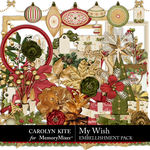 My Wish Embellishment Pack-$4.99 (Carolyn Kite)