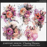 Chasing Dreams Art Clusters Pack-$2.80 (Jumpstart Designs)