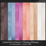 Chasing Dreams Paper Pack-$2.80 (Jumpstart Designs)