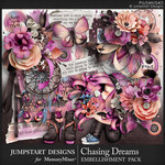 Chasing Dreams Embellishment Pack-$3.49 (Jumpstart Designs)