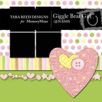 Giggle Bear Girl QuickMix-$4.00 (Tara Reed Designs)