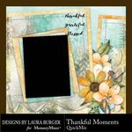 Thankful Moments QuickMix-$3.99 (Laura Burger)