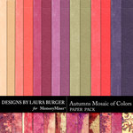 Autumns Mosaic of Colors Paper Pack-$3.99 (Laura Burger)