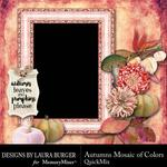 Autumns Mosaic of Colors QM-$2.80 (Laura Burger)