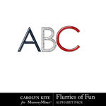 Flurries of Fun CK Alphabet Pack-$2.80 (Carolyn Kite)