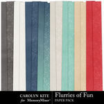 Flurries of Fun CK Paper Pack 2-$3.99 (Carolyn Kite)