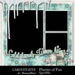 Flurries of Fun CK QuickMix-$4.99 (Carolyn Kite)