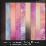Chasing Dreams Blended Paper Pack-$3.99 (Jumpstart Designs)
