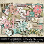 A Family Gathering Embellishment Pack-$3.99 (Laura Burger)