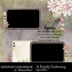 A Family Gathering QuickMix-$3.99 (Laura Burger)
