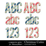 Christmas Cuties Alphabet Pack 1-$3.99 (Carolyn Kite)