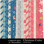 Christmas Cuties Paper Pack 3-$3.99 (Carolyn Kite)