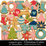 Christmas Cuties Sugar Cookies-$2.80 (Carolyn Kite)