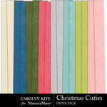 Christmas Cuties Paper Pack 2-$1.99 (Carolyn Kite)