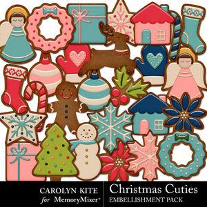 Crk christmascuties gingerbread medium