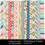 Christmas Cuties Paper Pack 1-$2.80 (Carolyn Kite)