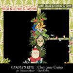 Christmas Cuties QuickMix-$2.80 (Carolyn Kite)