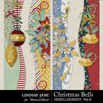 Christmas Bells Borders Pack-$1.99 (Lindsay Jane)