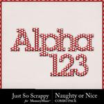 Naughty or nice kit alpha small