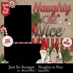 Naughty Or Nice QuickMix-$3.99 (Just So Scrappy)