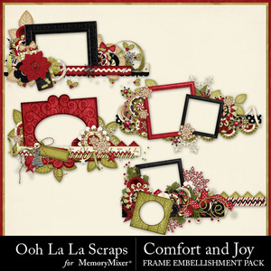 Comfort and joy frame borders medium