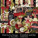 Comfort and Joy Combo Pack-$4.99 (Ooh La La Scraps)