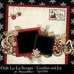 Comfort and Joy QuickMix-$1.99 (Ooh La La Scraps)