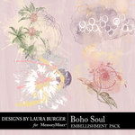 Boho Soul Scatters Pack-$3.99 (Laura Burger)