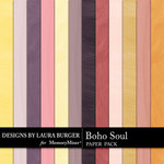 Boho Soul Watercolor Paper Pack-$3.99 (Laura Burger)