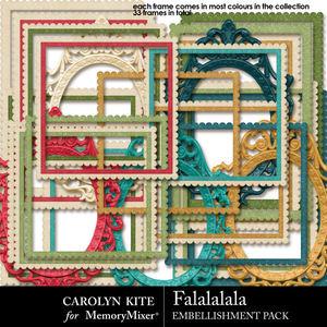 Crk falalalala embellishmentsframes medium