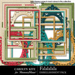 Falalalala Frames Pack-$2.99 (Carolyn Kite)