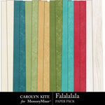 Falalalala Paper Pack 3-$3.99 (Carolyn Kite)