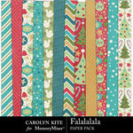 Falalalala Paper Pack 2-$3.99 (Carolyn Kite)