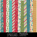 Falalalala Paper Pack 1-$3.99 (Carolyn Kite)