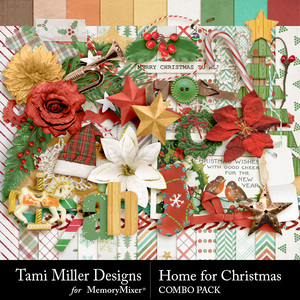 Home for christmas combo pack medium