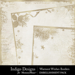 Warmest Wishes Borders Pack-$1.75 (Indigo Designs)