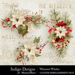 Warmest Wishes Cluster Pack-$3.49 (Indigo Designs)